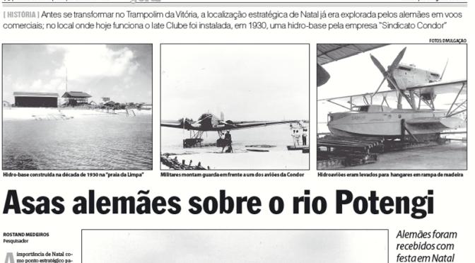 ASAS ALEMÃS SOBRE O RIO POTENGI