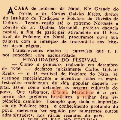 Jornal A Hora, de Porto Alegre, Rio Grande do Sul, 29 de janeiro de 1958