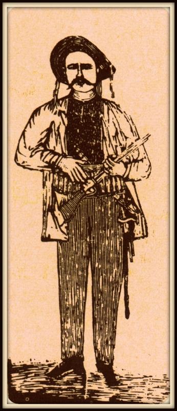 Xilogravura de Antonio Silvino