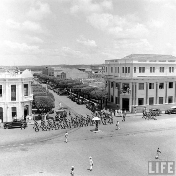 1942 - Natal, in Brasile, il principale punto di interesse strategico degli Stati Uniti in America del Sud - Time Life