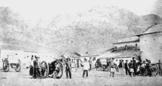 L'artillerie de l'armée de terre brésilienne pendant la Guerre de Canudos