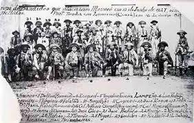 1927 - Groupe Lampião après l'attaque de la ville de Mossoró