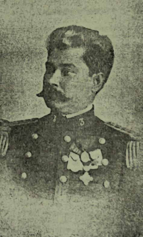 Tenente coronel Febrônio de Brito, comandante do 2º Batalhão de Caçadores em Natal, 1908