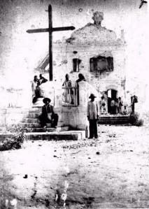 L'église du village de Canudos après la fin de la guerre