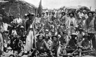 Soldats de l'armée brésilienne pendant la guerre