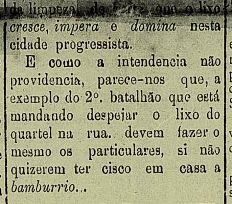 """A pretensa insubordinação no 2º Batalhão de Caçadores no """"Diário de Natal"""", edição de quinta feira, 9 de janeiro"""
