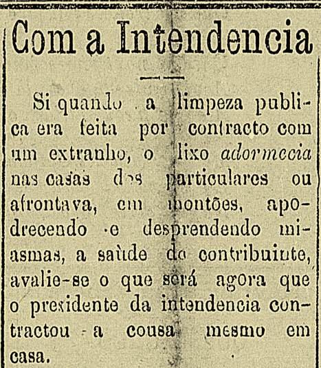 """""""Diário de Natal"""", edição de quinta feira, 9 de janeiro de 1908"""