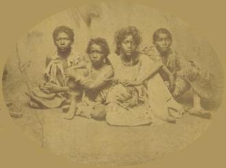 Flagelados da seca do Ceará durante a seca de 1877-1879