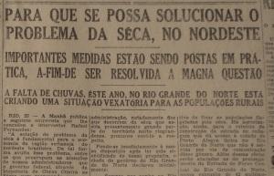 Edição de 26 de março de 1942, no Jornal do Commércio, de Recife, Pernambuco.