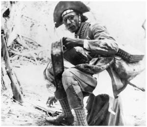 Le bandit le plus célèbre du Brésil, Virgulino Ferreira da Silva, le timide Lampião