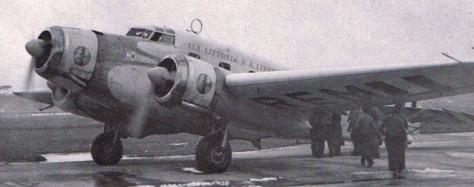Aereo compagnia LATI - Questo tipo di aeromobile effettuati voli tra Roma e Rio de Janeiro - http://www.spmodelismo.com.br/howto/ac/lati.php