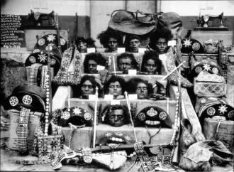 En 1938, peu de temps après la mort de Lampião, Maria Bonita et d'autres camarades, leurs têtes ont été coupées et exposées de la ville de Piranhas dans l'état d'Alagoas