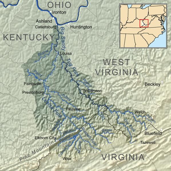 Área geográfica onde ocorreu o conflito