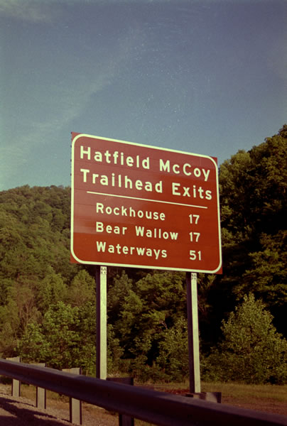 Trilha Hatfield-McCoy