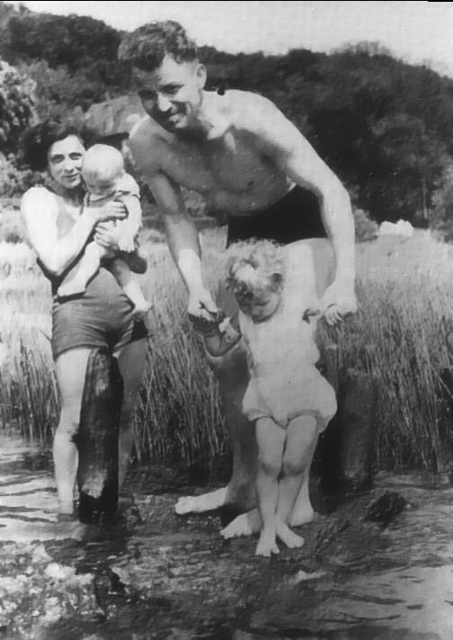 Landmesser, Irma e suas filhas