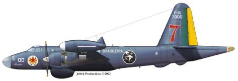 Desenho do P-15 da FAB - Fonte - wp.scn.ru