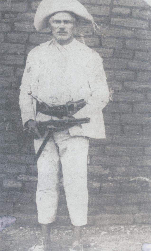 Um típico cangaceiro nordestino na década de 1920