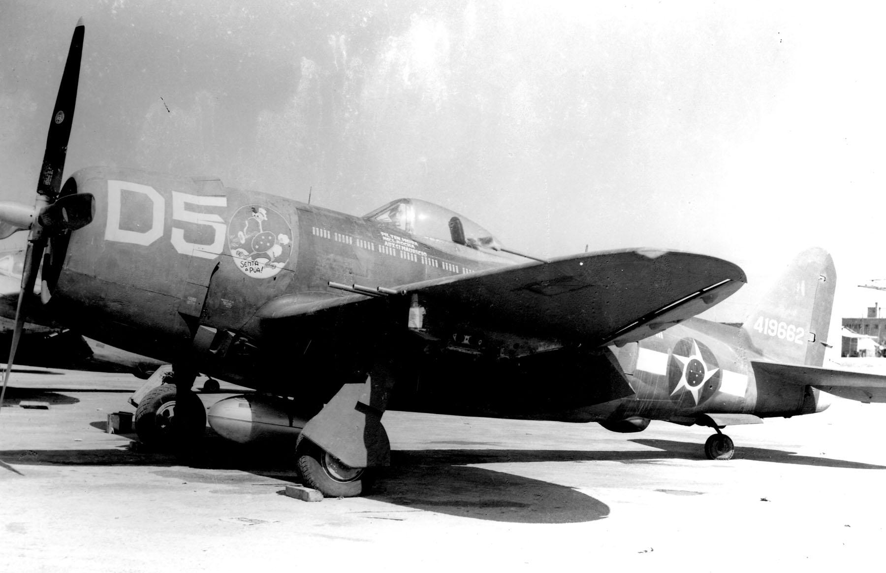 e18cffde38ada P-47 do Comandante Meira na Itália