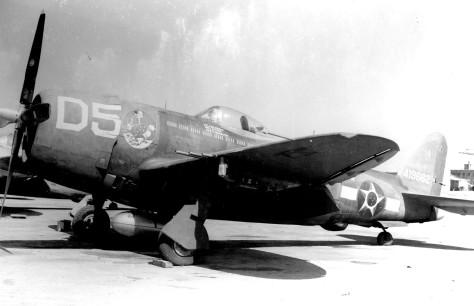 P-47 do Comandante Meira na Itália