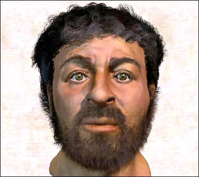 Para os cientistas esta seria uma possibilidade da face aproximada de Jesus Cristo