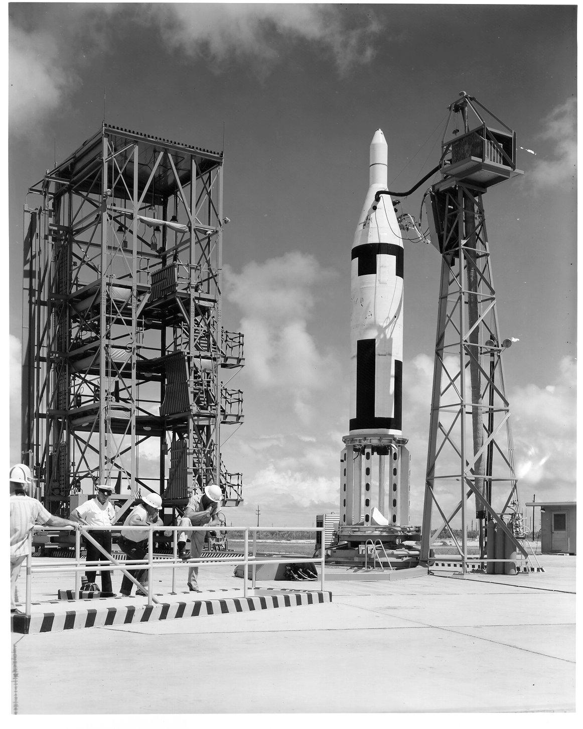 Muitos artefatos disparados em cabo Canaveral, eram monitorados pela estação de Fernando de Noronha - Fonte - NASA