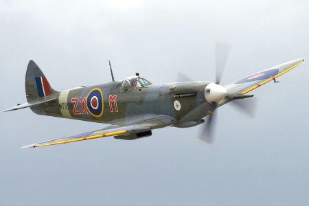Um Supermarine Spitfire nos dias atuais.