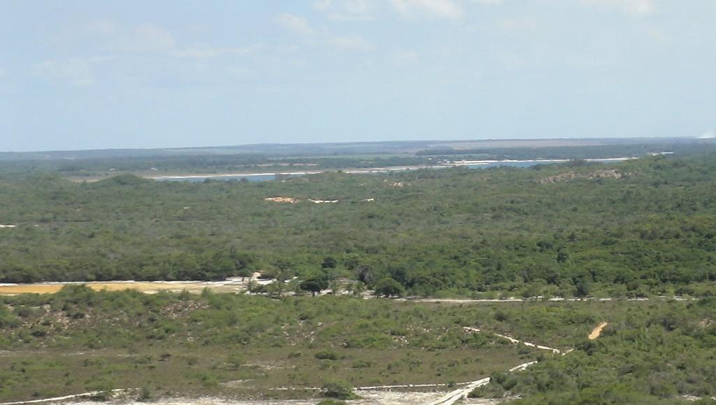 A Lagoa do Bonfim vista do alto do Morro do Navio