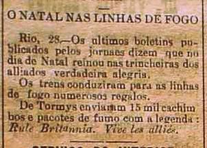 No dia 29 de dezembro de 1914, o jornal natalense A Republica publicou uma pequena nota sobre o fato