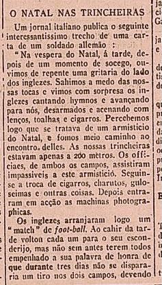 Outra nota trazendo detalhes do acontecimento publicado no Brasil, então um país neutro