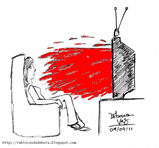 A violência ocupa cada vez mais espaços na mídia