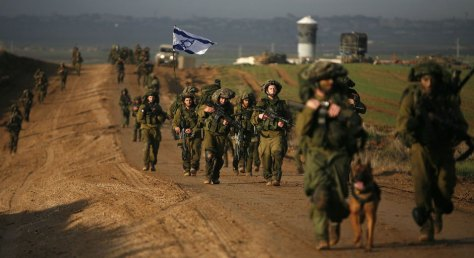 Tropas israelenses - Fonte - news.nationalpost.com