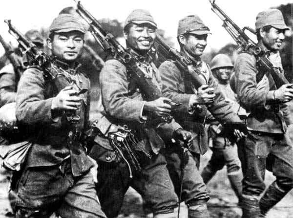 O Exército Imperial Japonês na época de suas vitórias.