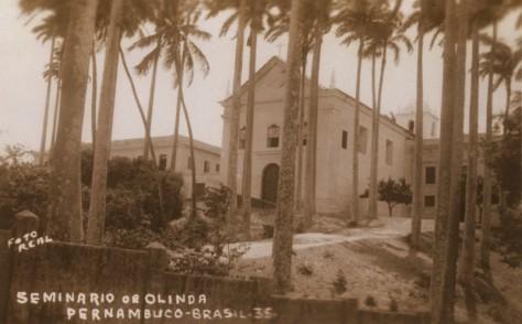 O belo Seminário de Olinda.
