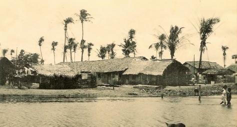 Como todo local deste nosso belo e desigual país, o passado de Recife e Olinda não tinha apenas belezas, mas também locais onde a vida era bem difícil. Sem identificação deste local.