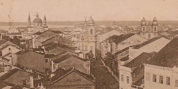 Recife e suas igrejas.