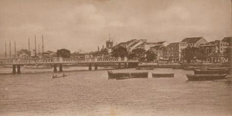A Ponte 7 de setembro.