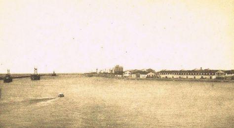 O Porto de Recife.