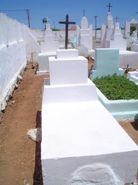Provável túmulo do Sargento Clementino Quelé, na cidade da Prata, Paraíba.