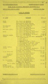 Listas das bases da U.S. Navy no Brasil em 1944 - do Amapá ao Rio Grande do Sul.