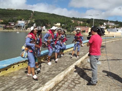 Filmado em Triunfo o grupo de xaxado organizado pela amiga e pesquisadora triunfense Diana Pontes