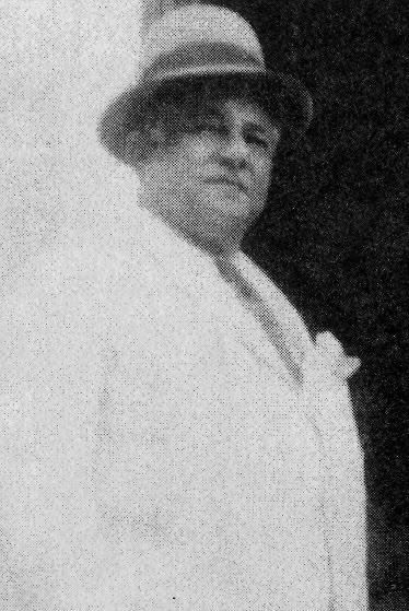 """O """"major"""" Aprígio Higino D'Assunção,  que por três ocasiões foi prefeito em Triunfo e dono de cartório."""