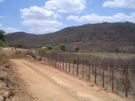 Vista da Serra do Catolé, em Belmonte, Pernambuco.