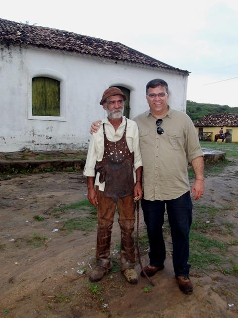Reencontrando o amigo Braz de Buíque, grande vaqueiro, afamado na sua ribeira e homem simples por natureza