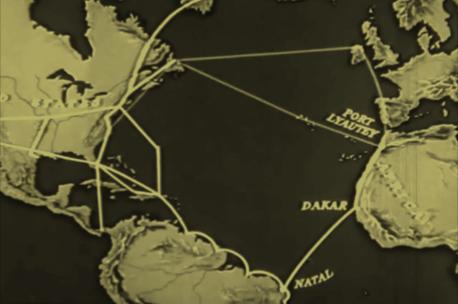 Natal em uma das principais rotas aéreas durante a Segunda Guerra Mundial