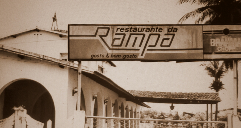 Um restaurante operou no prédio da Rampa - Fonte - Tribuna do Norte