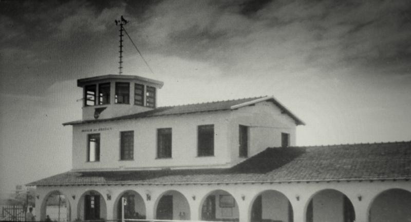 Nova estação da Panair, mas sem utilização após a guerra - Fonte - Tribuna do Norte