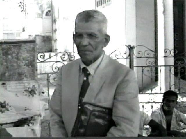 Ângelo Roque na década de 1970. Homem livre e exemplar funcionário público em Salvador