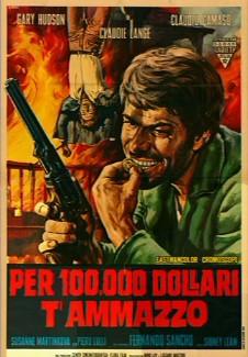 Cartaz de um dos filmes de western dirigidos pelo italiano Giovanni Fago