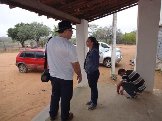 Na Fazenda Barreiros, de propriedade do amigo Alvaro Severo, na zona rural de Serra Talhada, próximo da Serra Grande, onde ocorreu um dos mais importantes e maior combate da história do cangaço