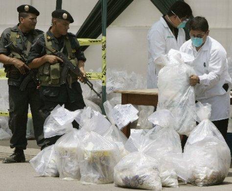 Combate a fabricação de cocaína na Colômbia